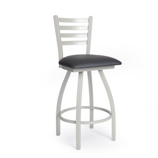 Steel Frame Ladderback Counter Stool