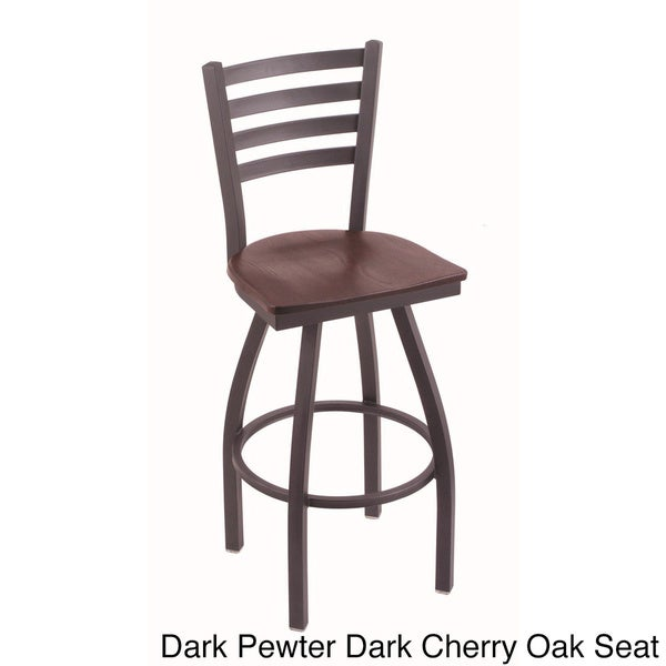 Holland Bar Stool Company Steel Frame And Oak Counter Stool   Free Shipping  Today   Overstock.com   16248593