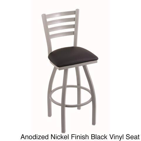 Steel Frame Black Seat Bar Stool