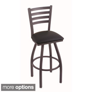 Steel Frame Black Seat Bar Stool