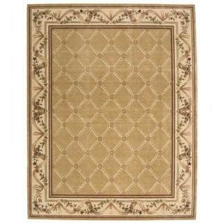 Nourison Chambord Gold Rug (2'3 x 3'9)