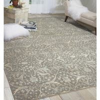 Nourison Luminance Steel Rug - 5'3 x 7'5