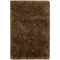 Nourison Stylebright Chocolate Shag Rug