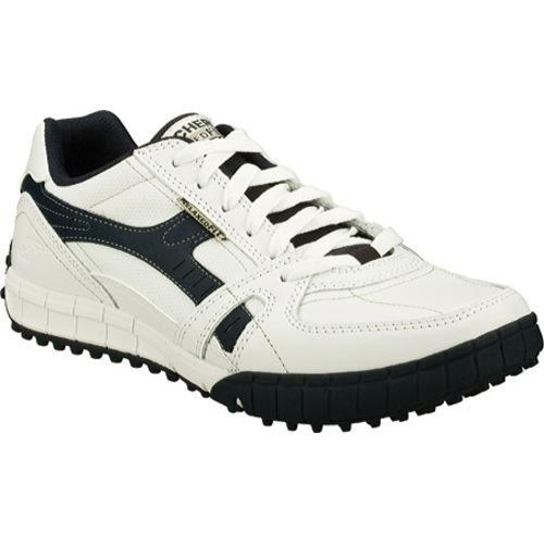 c032d0fb4ee0 Shop Men s Skechers Relaxed Fit Floater Down Time White Navy - Free  Shipping Today - Overstock - 9053134