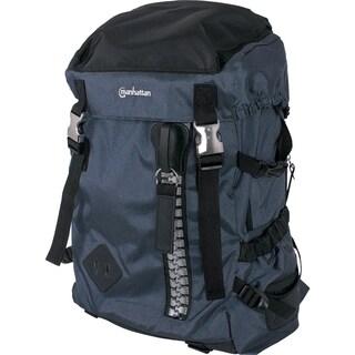 """Manhattan Zippack 15.6"""" Laptop Backpack, Blue/Black"""