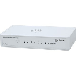 Manhattan 8-Port Gigabit Ethernet Switch