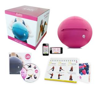 Ugi Fitness at Home 8-pound Pink Exercise Ball (Option: Pink)