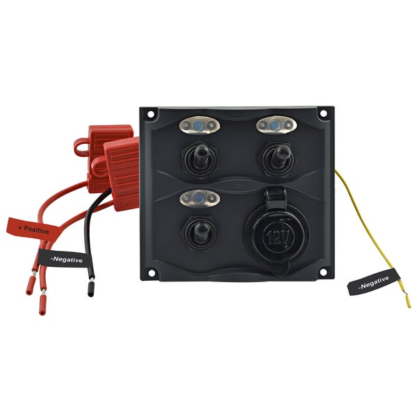 Shoreline Marine Gang Switch Panel with LED Indicator