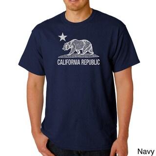 Men's California Republic Bear T-shirt