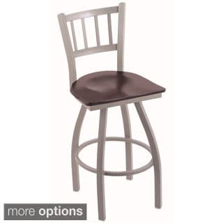 Steel Frame and Maple Bar Stool