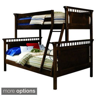 Bennington Twin/ Full Solid Hardwood Bunk Bed