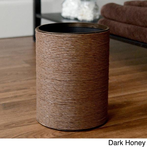 LaMont Home Handspun Wastebasket