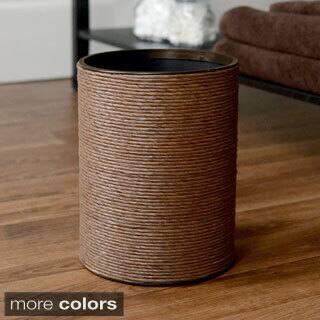 LaMont Home Handspun Wastebasket https://ak1.ostkcdn.com/images/products/9054065/LaMont-Home-Handspun-Wastebasket-P16249683.jpg?impolicy=medium