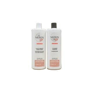 Nioxin System 3 1-liter Cleanser and Scalp Therapy Set