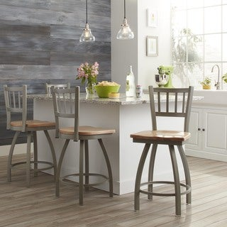 Steel Frame and Maple Swivel Counter Stool|https://ak1.ostkcdn.com/images/products/9054184/P16249777.jpg?_ostk_perf_=percv&impolicy=medium