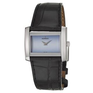 Movado Women's 0606821 'Eliro' Stainless Steel Quartz Small Blue Watch