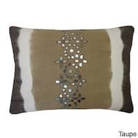 14 x 20-inch Sheesha Tie-dye Lumbar Accent Pillow