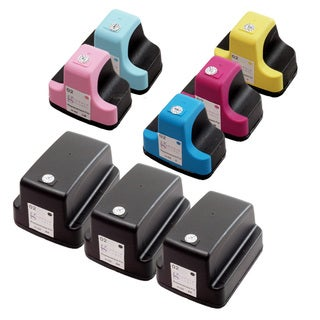 Sophia Global Remanufactured Ink Cartridge Replacement for HP 02 (Pack of 8)