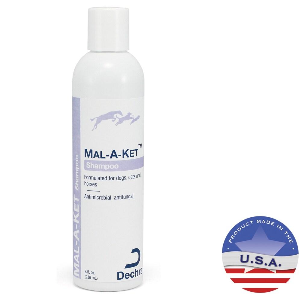 DermaPet Malaket Antifungal Antibacterial 8-ounce Pet Sha...