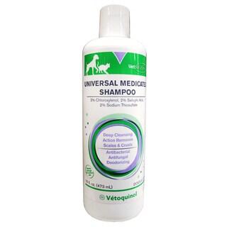 Vet Solutions Vetoquinol Universal Medicated Pet Shampoo - White