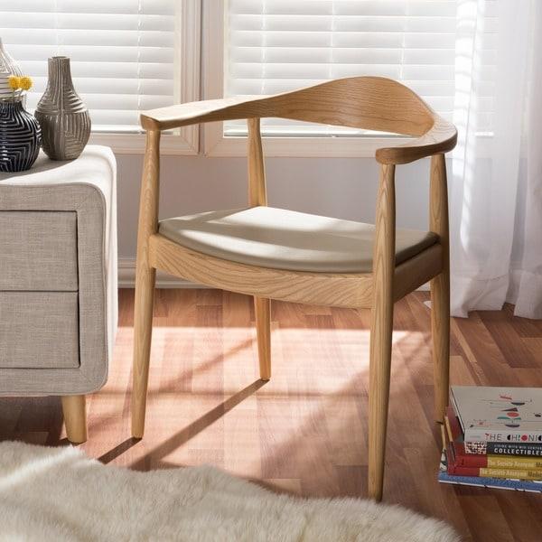 Baxton Studio Embick Mid Century Modern Dining Chair (Single Chair)