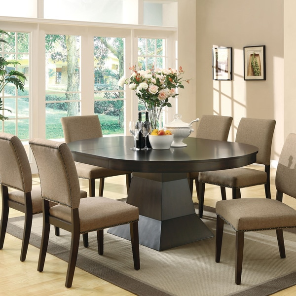 danish modern oval dining table myrtle glass for 8 size