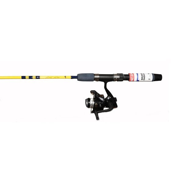 Eagle Claw Brave Eagle Packaged Spin 5-foot 2-piece Combo