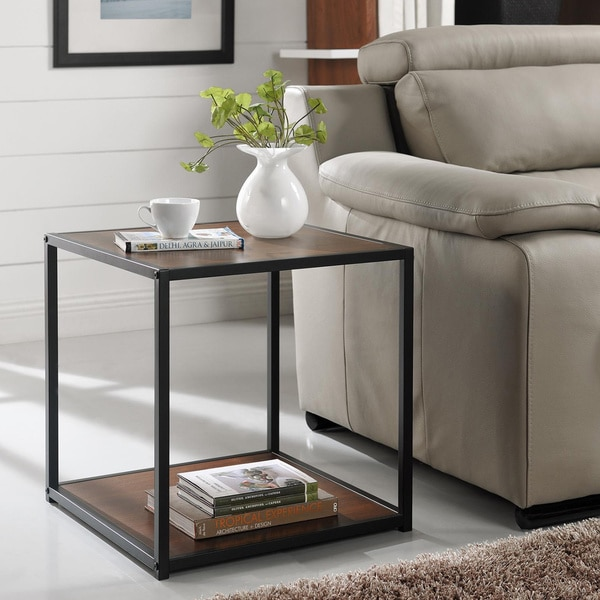 Ameriwood Home Canton Accent Table With Metal Frame Free