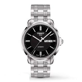 Tissot Men's 'Automatic III' Stainless Steel Bracelet Watch