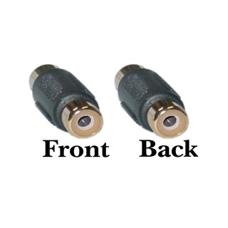 Offex F / F RCA Coupler