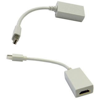 Offex Mini DisplayPort Male to HDMI Female Adapter Cable