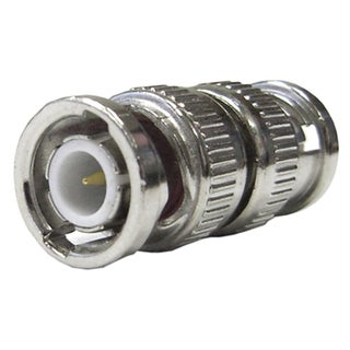 Offex Male / Male BNC Barrel Coupler Connector