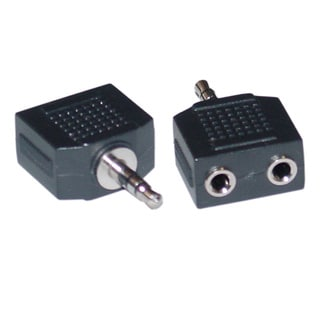 Offex 2 x 3.5mm Stereo Female / 3.5mm Stereo Male Stereo Splitter