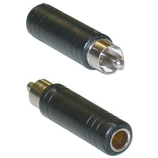 """Offex 1/4"""" Mono Female / RCA Male Mono to RCA adapter"""