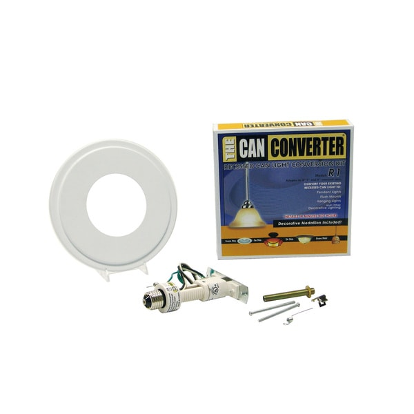 the can converter r1 recessed can light conversion kit free shipping. Black Bedroom Furniture Sets. Home Design Ideas