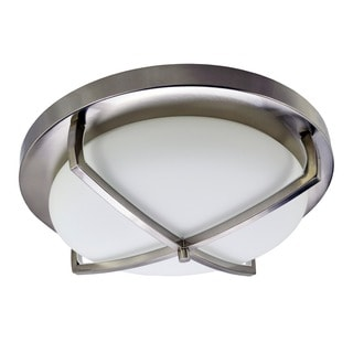 HomeSelects X Light 3-lamp Ceiling Flush Mount
