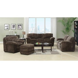 Emerald Devon Mocha 4-piece Livingroom Set