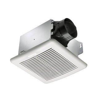Delta Electronics BreezeGreenBuilder 80 CFM Bathroom Fan with Adjustable Humidity Sensor