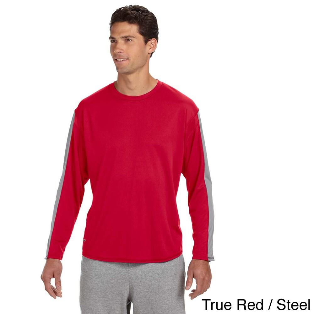 Russell Russel Men's Long Sleeve Performance T-shirt (S,T...