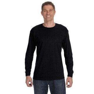 Fruit of the Loom Men's 'BestU' 50/50 Long Sleeve T-shirt