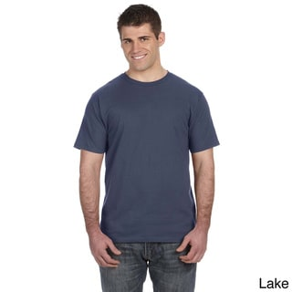 Link to Anvil Men's Ringspun Pre-shrunk Cotton T-shirt Similar Items in Athletic Clothing