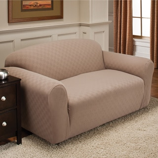 Stretch Sensations Innovative Textile Solutions Newport Loveseat Slipcover