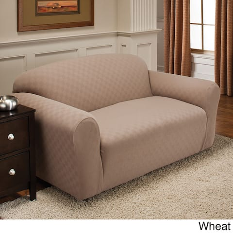 Stretch Sensations Stretch Newport Loveseat Slipcover - loveseast