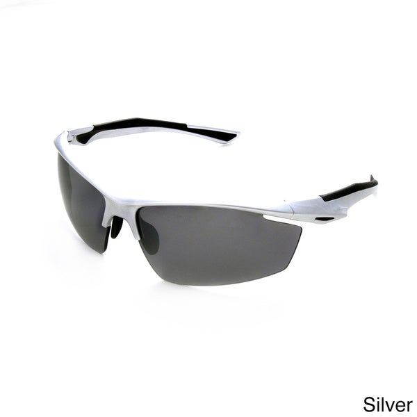 576c82b072 Shop Hot Optix Men s Sport Wrap Sunglasses - Large - Free Shipping ...