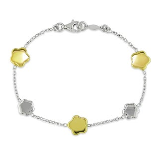 Miadora 18k Two-tone Gold Child Bracelet