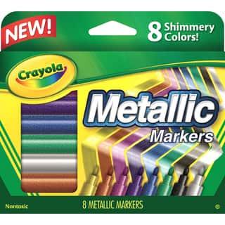 Crayola Metallic Markers 8/Pkg|https://ak1.ostkcdn.com/images/products/9056480/P16251553.jpg?impolicy=medium