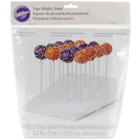 "Cake Pops Slanted Treat Stand 1/Pkg-2.37""x8.37"""