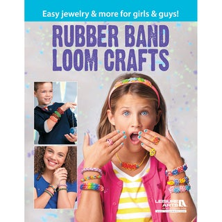 Leisure Arts-Rubber Band Loom Crafts