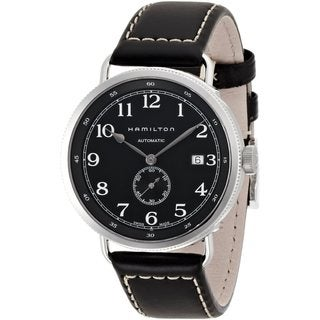 Hamilton Men's 'Khaki Pioneer' Automatic Black Watch