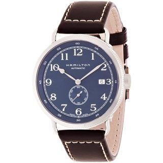 Hamilton Men's Khaki 'Pioneer' Automatic Brown Watch